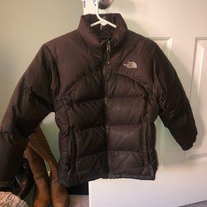 Girls Northface winter jacket